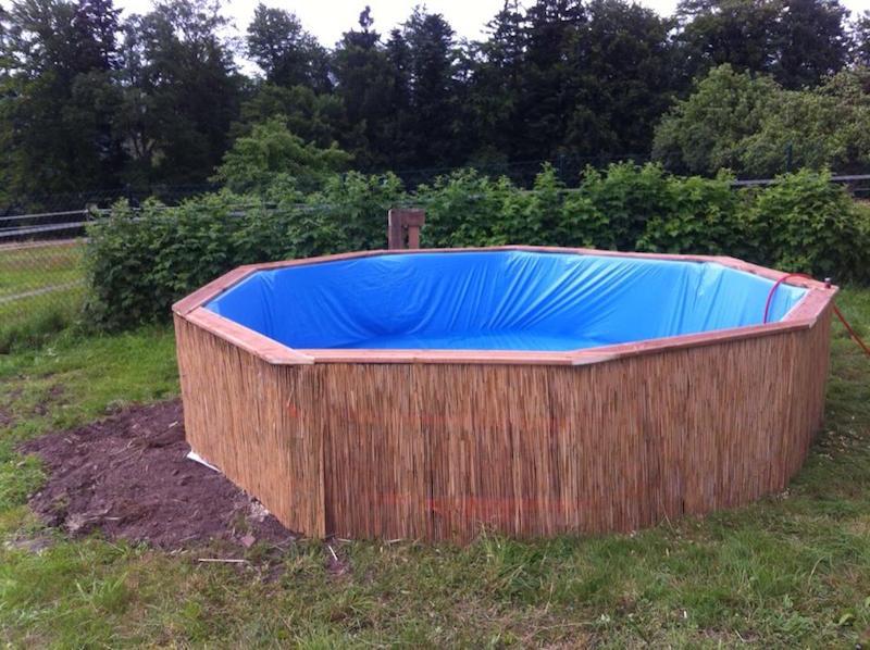 C mo hacer una piscina con 10 palets for Como hacer una piscina