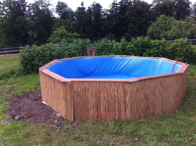 como hacer una piscina con 10 palets4 - Como Construir Una Piscina