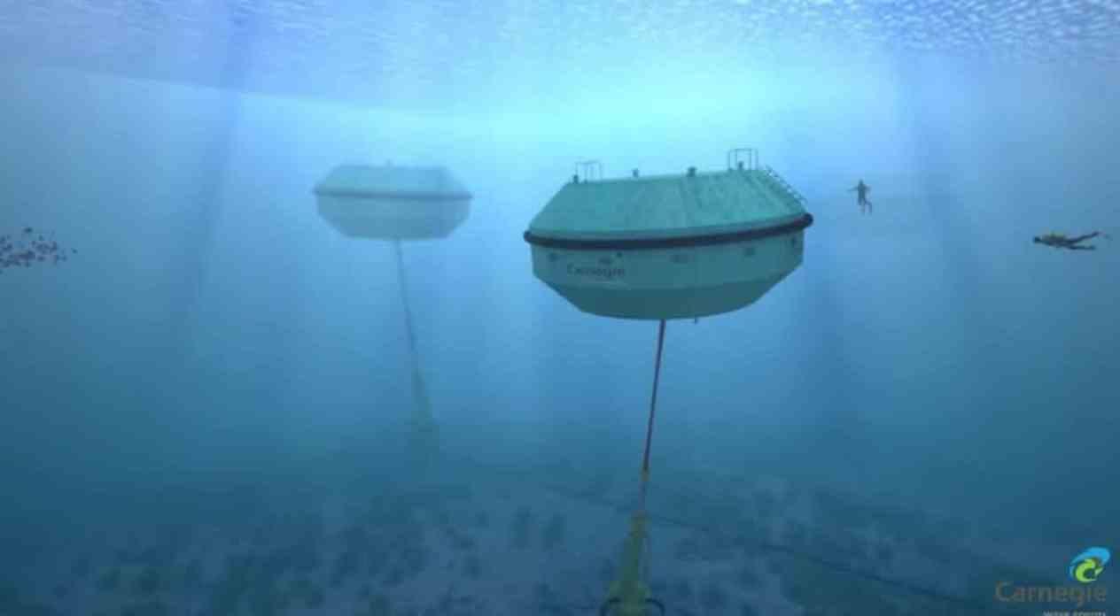 Australia usa el movimiento del océano para generar energía renovable y desalinizar agua simultáneamente