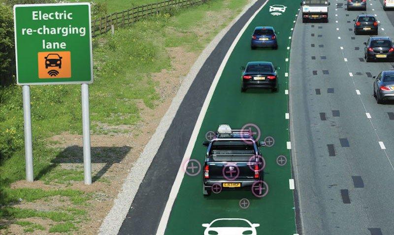 Recarga inalámbrica para coches mientras se conduce2