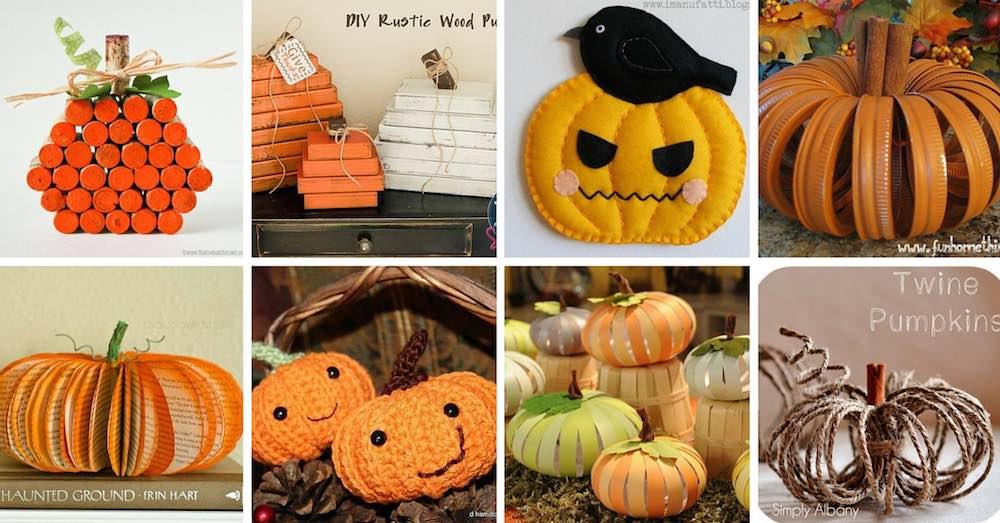 Ideas para hacer calabazas de halloween con objetos reciclados - Plantillas para decorar calabazas halloween ...