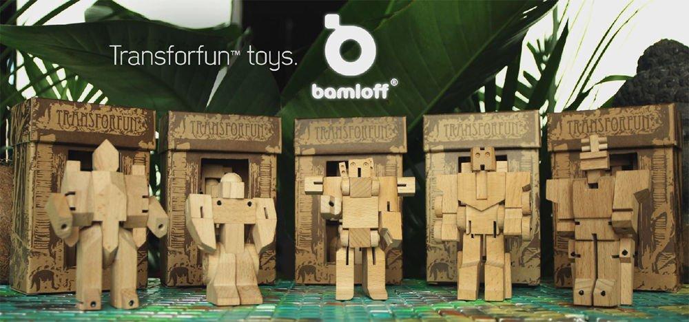 WooBots, los Transformers de madera