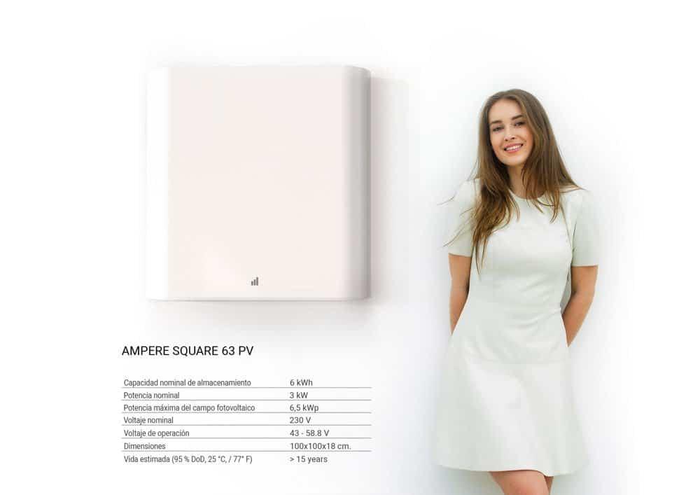 Ampere Square 63PV