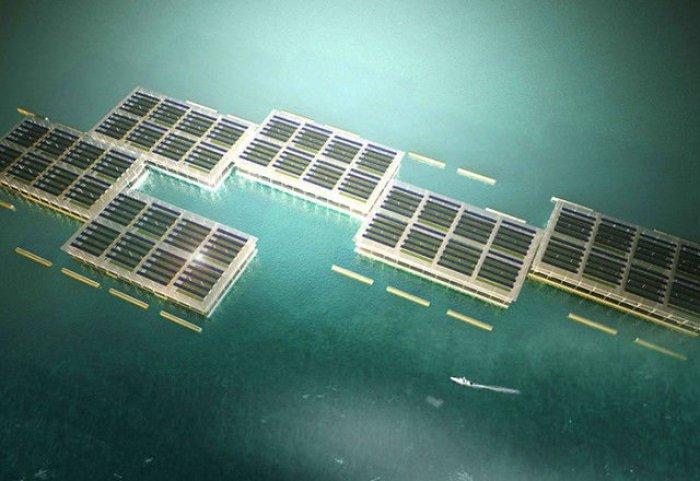 Granja solar flotante1