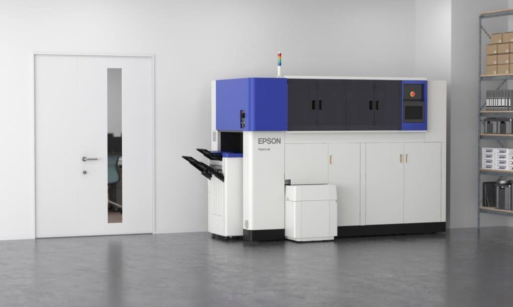 PaperLab. La máquina que convierte el papel usado en papel blanco