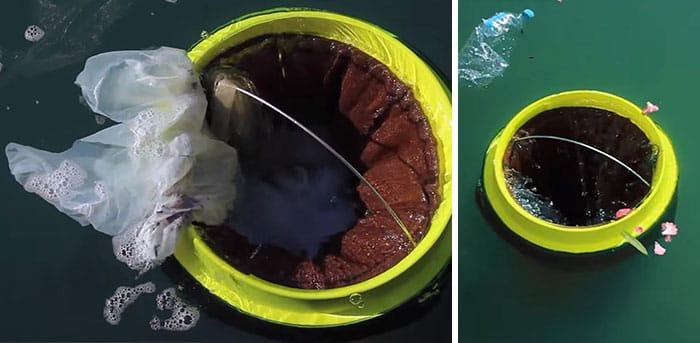 Seabin. El cubo de basura flotante que limpia el océano