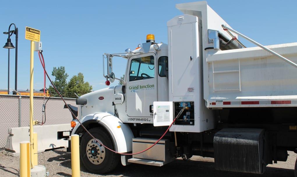 Los vehículos municipales de Grand Junction tienen combustible gracias a las aguas residuales