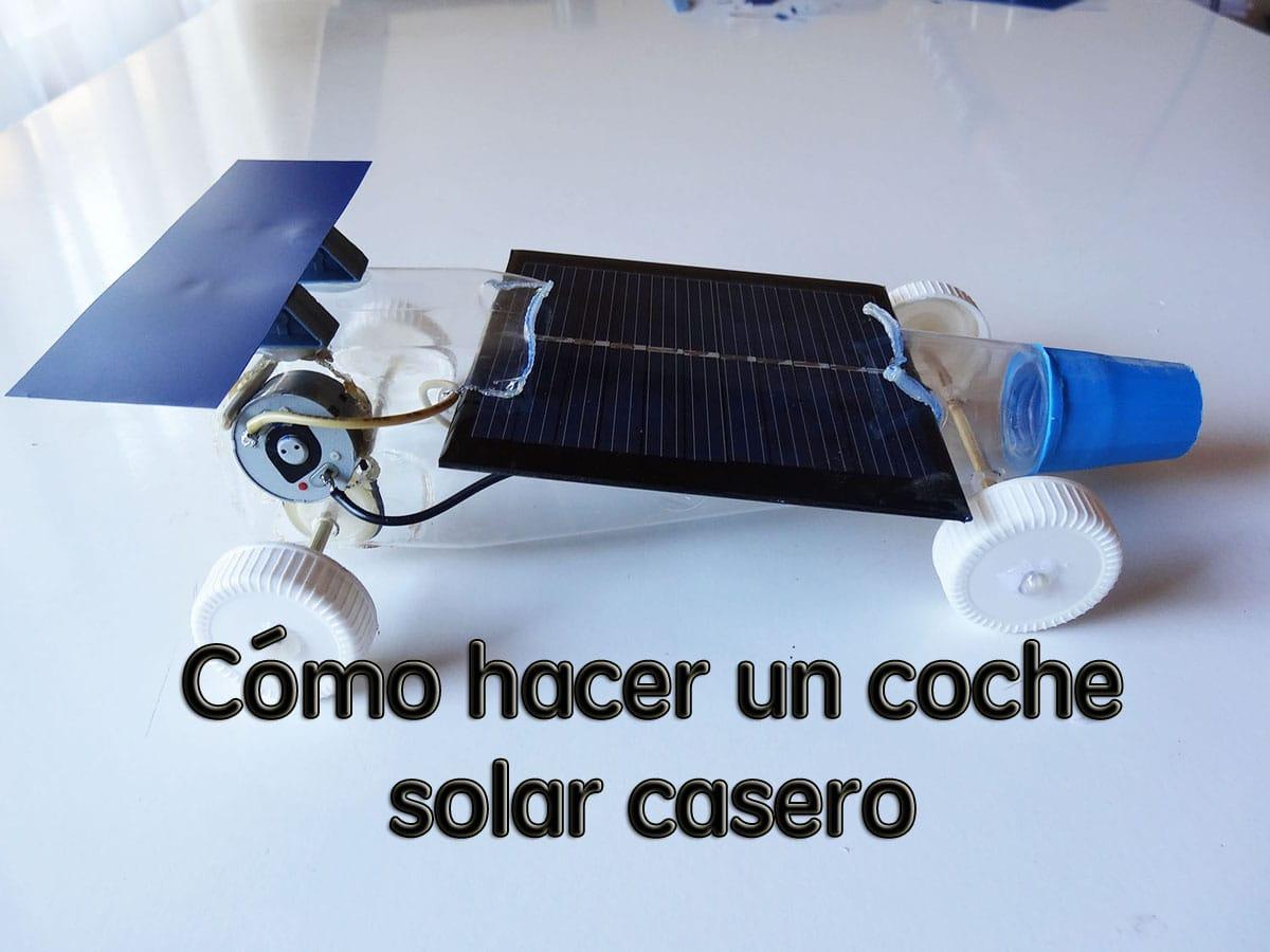 Cómo hacer un coche solar