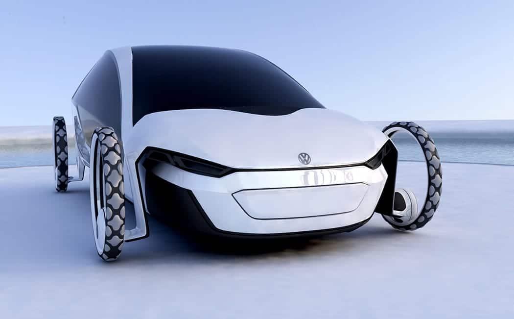 Diseño de coche solar para Volkswagen