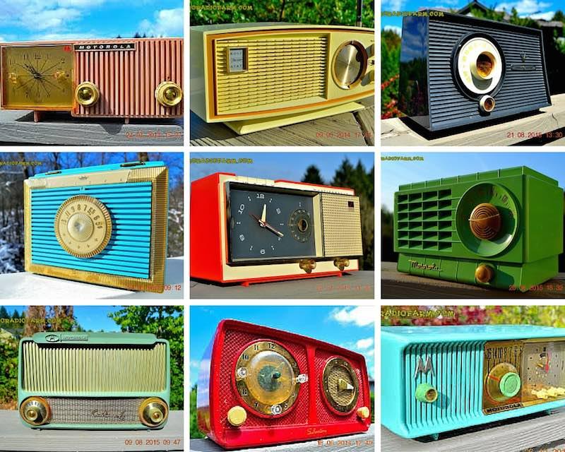 radios antiguas