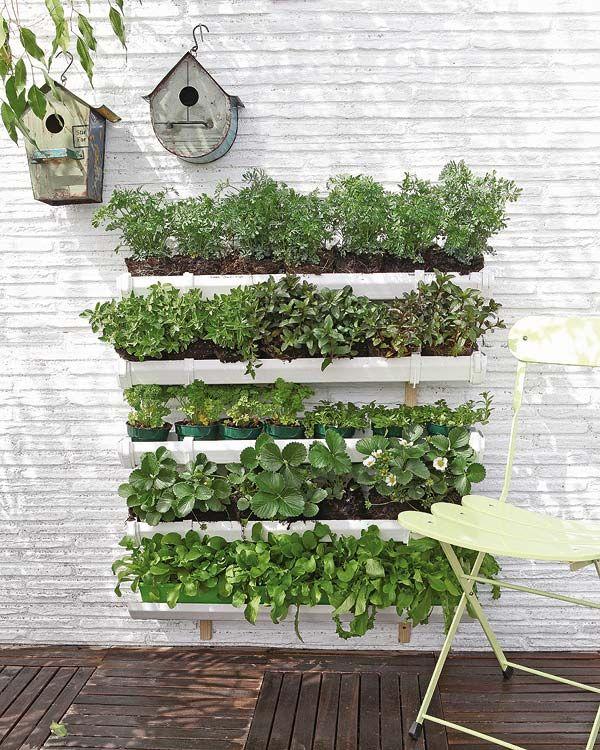 Ideas para montar un huerto vertical - Prieel tuin leroy merlin ...