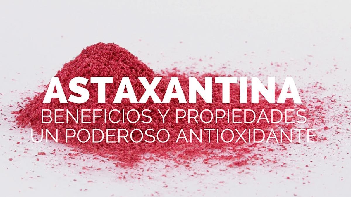 Propiedades, beneficios y usos de la astaxantina