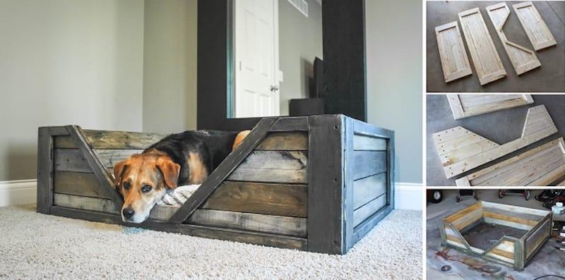 Como hacer una cama para tu perro con palets