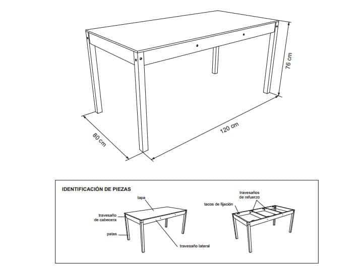 Planos para construir muebles de madera pdf total for Planos de muebles de madera pdf