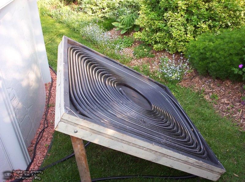 C mo hacer un calentador solar casero para tu piscina for Calefactor para piscina