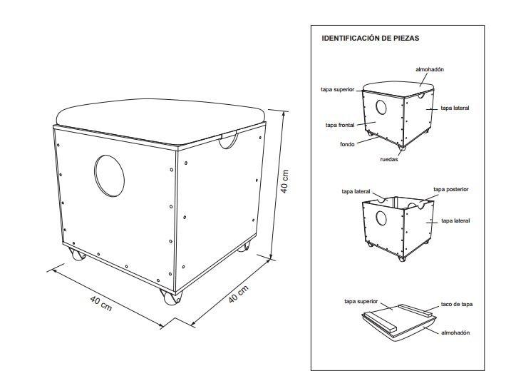 Planos para construir muebles de madera for Muebles para planos de casas