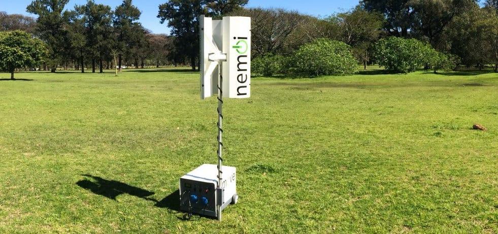 nemoi, sistema de generación eólica de eje vertical