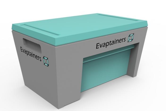 Evaptainers, tecnología de refrigeración móvil gratuita sin electricidad