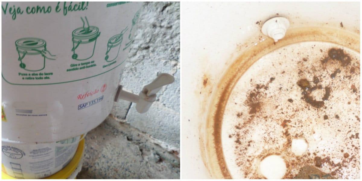 compostadora casera reutilizando bidones de plástico5
