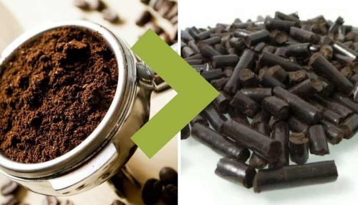 Reciclaje: así se transforma el café en pellets para calderas