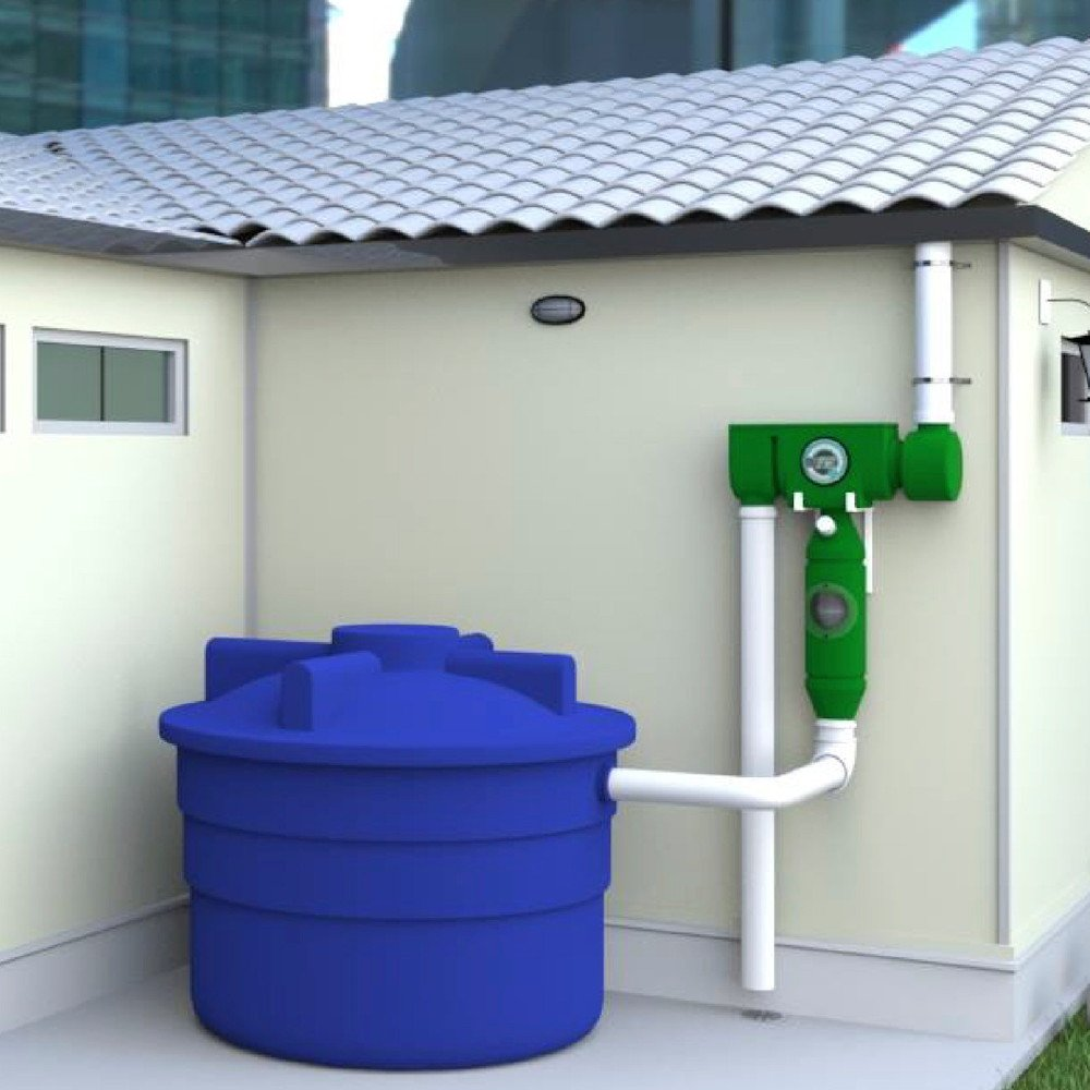 Sistema de captaci n de agua de lluvia para usar como agua for Recoger muebles