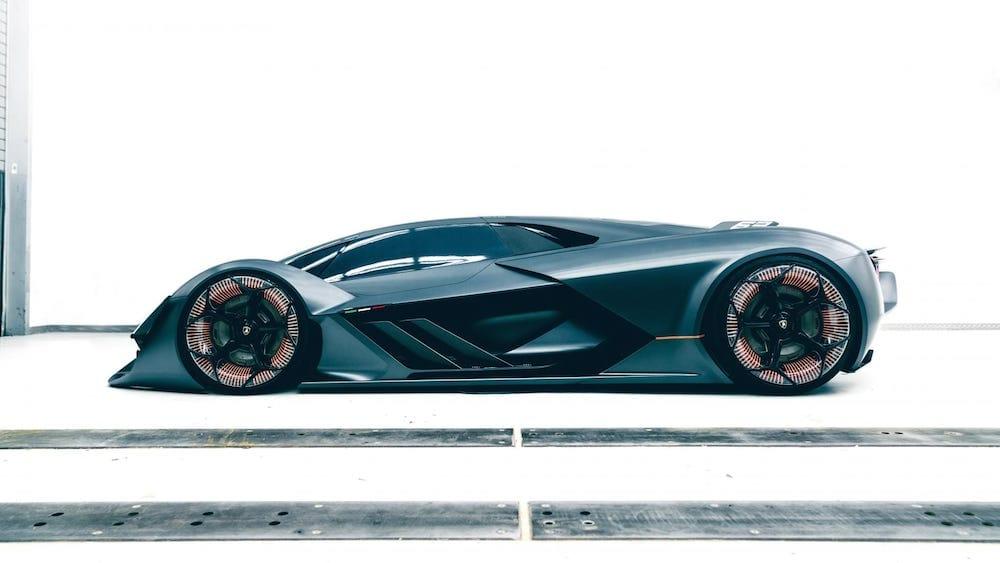 Lamborghini superdeportivo 100 % eléctrico
