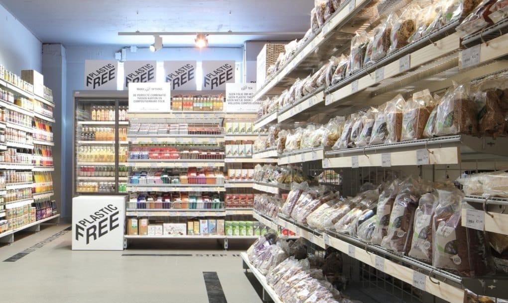 Holanda estrena el primer pasillo de supermercado 100% libre de plástico