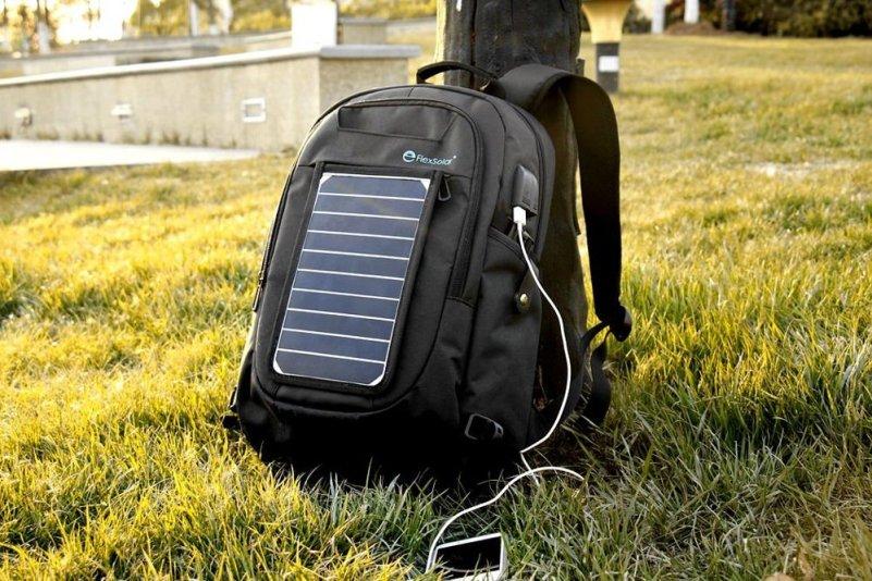 Resultado de imagen para mochila fotovoltaica