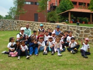 Visitantes del Preescolar CENDI No. 7.