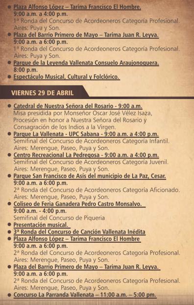 Festival Vallenato 4