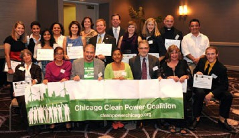 Chicago Clean Power Coalition wins IEC award