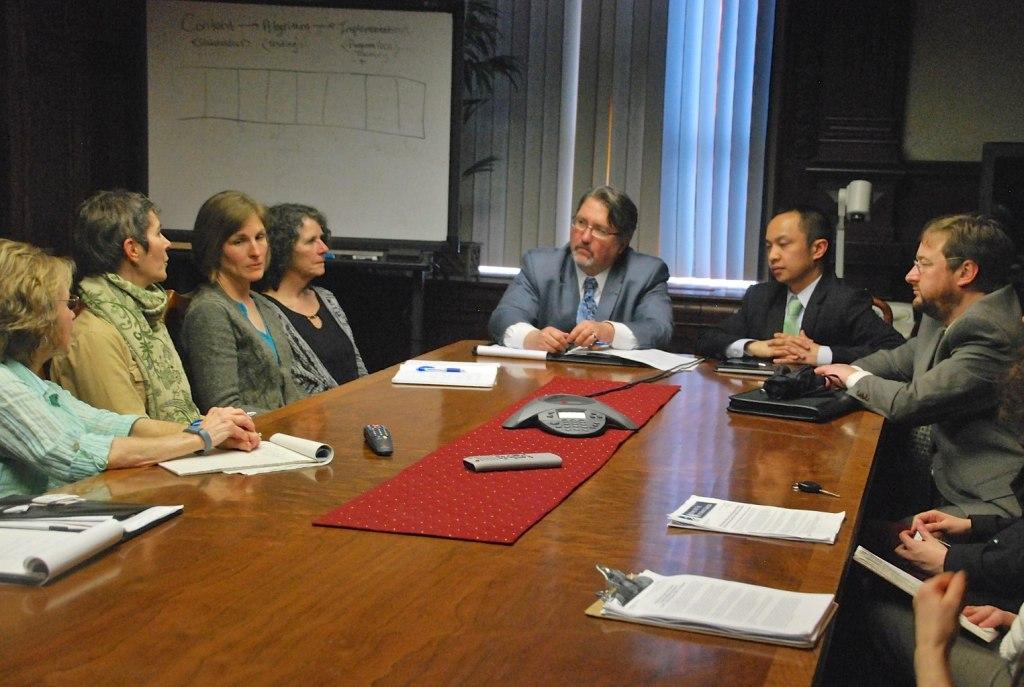 HCA meets with IDNR Director Marc Miller