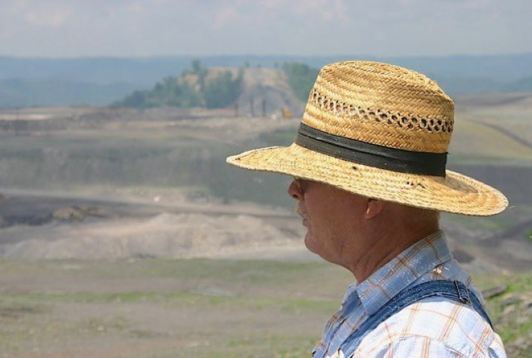 Larry Gibson, Keeper of the Mountains. Photo by Pam Richart, Eco-Justice Collaborative. 2010