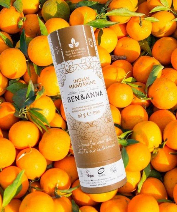 """Deodorante naturale per ascelle in stick """"Indian Mandarine"""""""