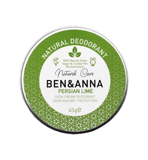 "Deodorante solido naturale per ascelle ""Persian Lime"", Ben & Anna"