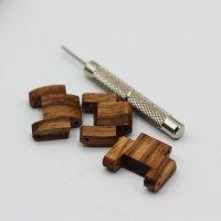 Orologio in legno da polso ecologico,