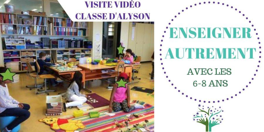 Visite classe Alyson - vidéo
