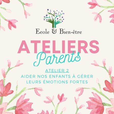 atelier 2 parents 2021