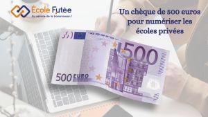 Aide digitalisation 500 euros