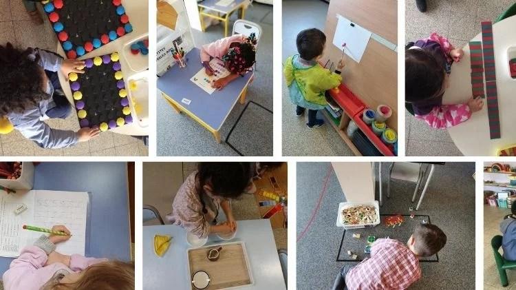 Activités en classe de l'école Saint Nicolas