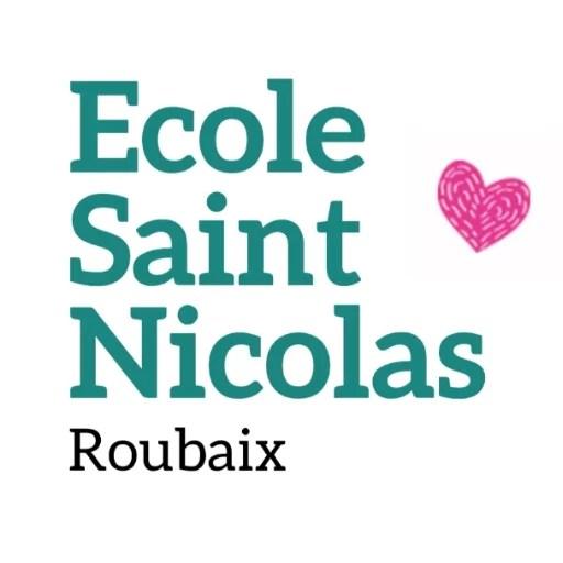 Logo Ecole Saint Nicolas Roubaix