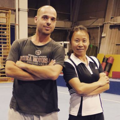 Wang Xiaona et Ghyslain