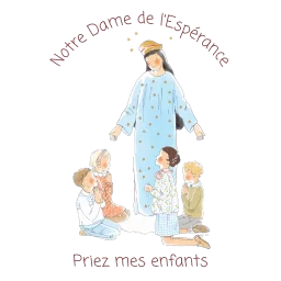 logo de l'école Notre-Dame de l'Espérance à Bourges