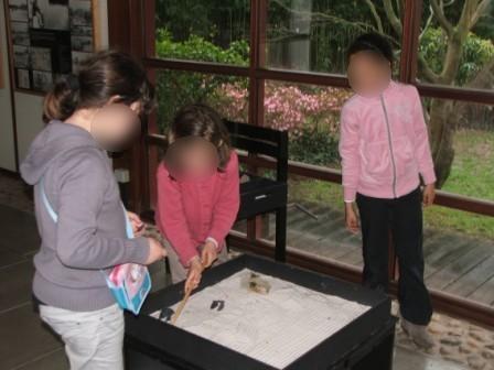 Les ce1 font leurs jardins japonais ecole notre dame for Le jardin japonais nantes