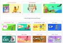 Un site aux nombreuses ressources pour aider les enfants de la maternelle au CM2
