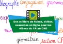 Des milliers de fiches, vidéos, exercices pour les élèves du CP au CM2