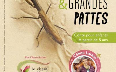 GS: Atelier d'écriture autour du spectacle  «Petites bêtes et grandes pattes»