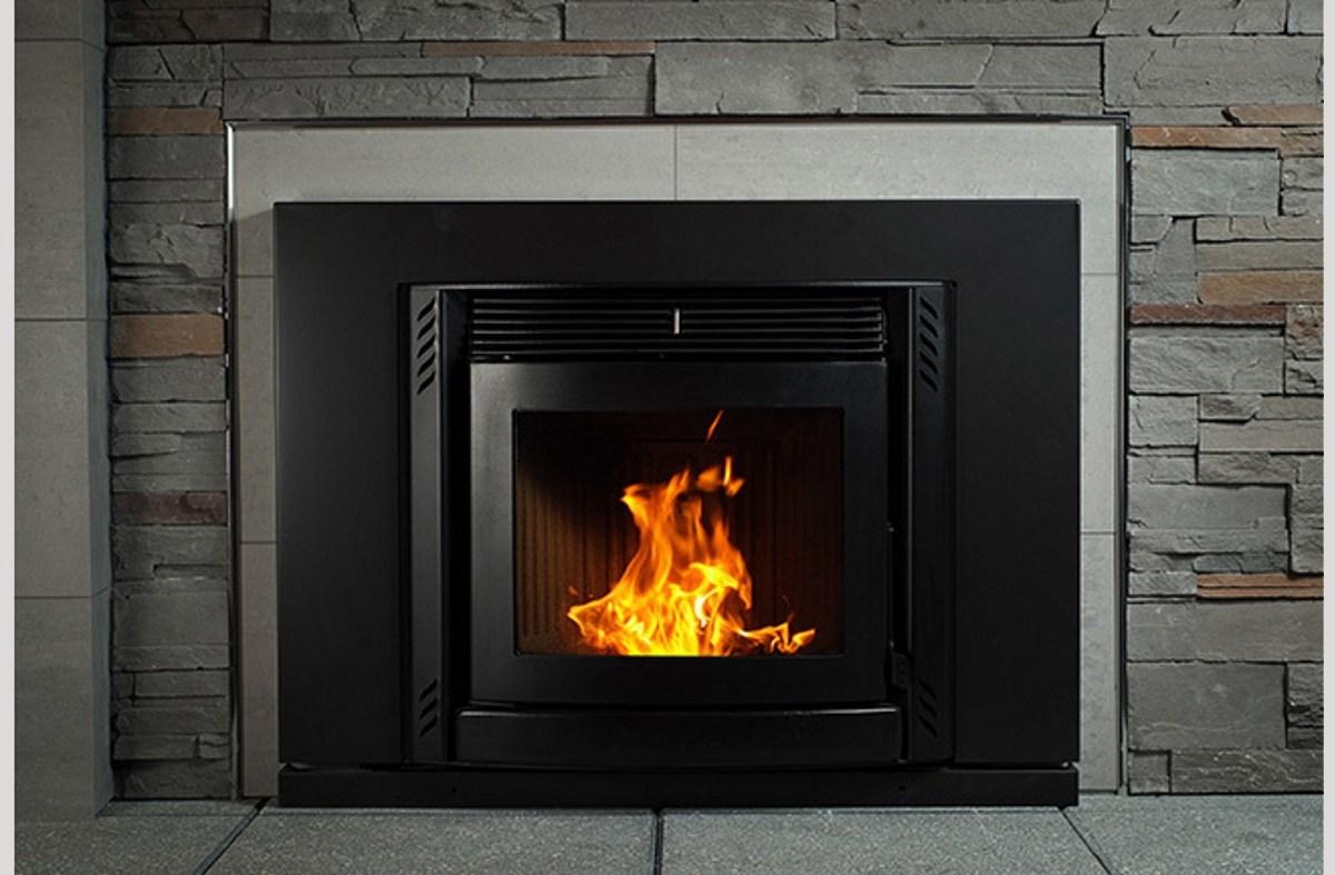 ravelli-sara-pellet-fire-black-front