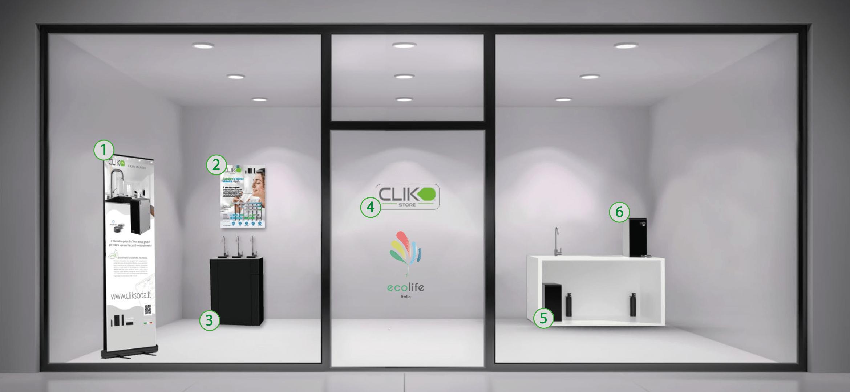 Nuova apertura: il primo store EcoLife
