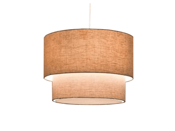 Linen pendant light at ecolight angamaly